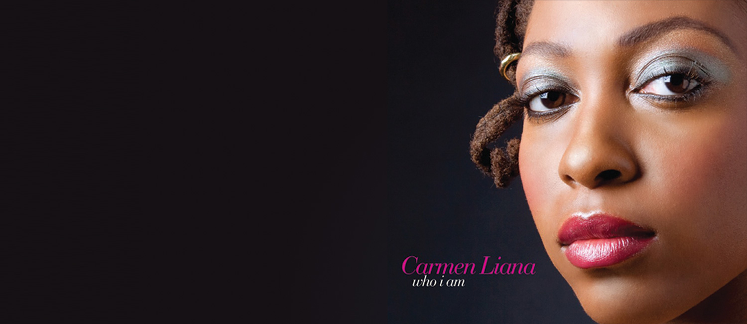 "Carmen Liana: ""Who I Am"" album art"